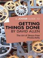 A Joosr Guide to... Getting Things Done by David Allen