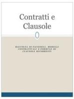 Contratti e clausole