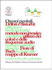 Organi genitali - Dolori e disturbi: rivoluzionario ed efficace metodo non invasivo mediante l'utilizzo dei colori e delle frequenze corrispondenti a ciascun Fiore di Bach in base alle mappe di Kramer.