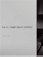 La r.c. negli sport sciistici