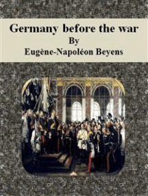 Germany before the war