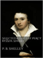 Selected Essays by Percy Bysshe Shelley