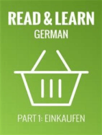 Read & Learn German - Deutsch lernen - Part 1