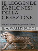 Le leggende babilonesi della Creazione (translated)