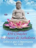 850 Citações e Frases de Sabedoria - Sobre o que é importante na vida -Pensamentos, provérbios, aforismos (Edição ilustrada)