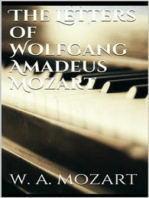 The Letters of Wolfgang Amadeus Mozart