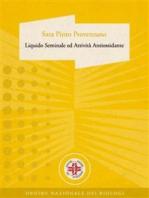 Liquido Seminale ed Attività Antiossidante