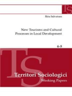 New tourisms and cultural processes in local development