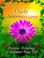 Daily Affirmations - Positive Thinking To Improve Your Life