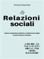 Le relazioni sociali