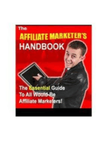 Affiliate marketer s handbook