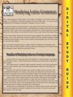 Latin Grammar ( Blokehead Easy Study Guide)