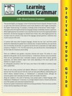 German Grammar ( Blokehead Easy Study Guide)
