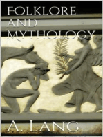 Folklore and Mythology