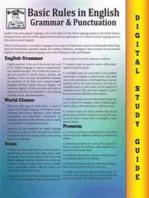 English Grammar ( Blokehead Easy Study Guide)