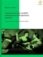 L'espressività come modello interpretativo dell'esperienza musicale