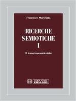 Ricerche semiotiche 1