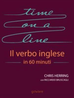 Time on a Line. Il verbo inglese in 60 minuti