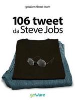 106 tweet da Steve Jobs sulla visione, il metodo, l'ambizione ...liberamente rielaborati