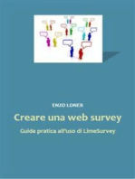 Creare una web survey. Guida pratica all'uso di LimeSurvey