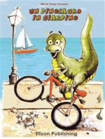 Un dinosauro in giardino