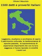1500 detti e proverbi italiani