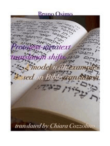 Prototext-metatext translation shifts: A model with examples based on Bible translation