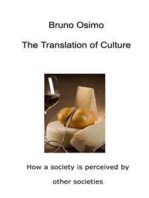 The Translation of Culture: How a society is perceived by other societies