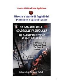 Ricette e storie di fagioli del Piemonte e valle d'Aosta