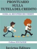 Prontuario sulla tutela del credito