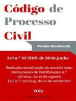 Código de Processo Civil Português