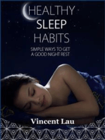 Healthy sleep habits