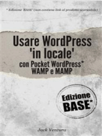 Usare WordPress 'in locale' (Ed. Base)
