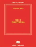 Fede e Indifferenza