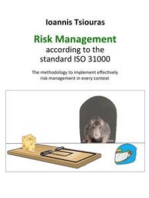 Ioannis Tsiouras - The risk management according to the standard ISO 31000