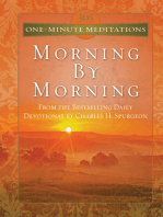 365 One-Minute Meditations From Morning By Morning
