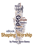 Shaping Worship - 70 Devotions for Worship Leaders and Teams (eBook)