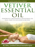 Vetiver Essential Oil Powerfully Grounding & Reassuring Oil Plus+ How to Use Guide & Recipes!