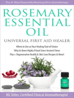Rosemary Essential Oil Universal First Aid Healer When to Use as Your Healing Tool of Choice Why Its Been Highly Prized Since Ancient Time Plus+ Regenerative Health & Skin Care Recipes & More!