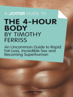 A Joosr Guide to... The 4-Hour Body by Timothy Ferriss