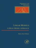 Linear Models: A Mean Model Approach
