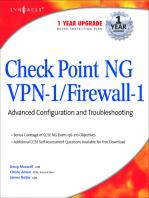 CheckPoint NG VPN 1/Firewall 1