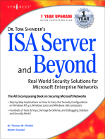 Dr Tom Shinder's ISA Server and Beyond
