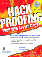 Hack Proofing Your Web Applications