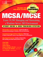 MCSA/MCSE Managing and Maintaining a Windows Server 2003 Environment (Exam 70-290)