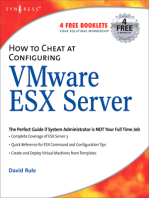 How to Cheat at Configuring VmWare ESX Server