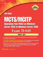 The Real MCTS/MCITP Exam 70-648 Prep Kit