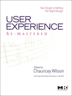 User Experience Re-Mastered