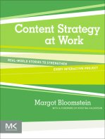 Content Strategy at Work