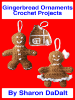 Gingerbread Ornaments Crochet Projects